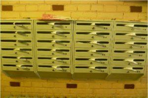 Разноска листовок по почтовым ящикам