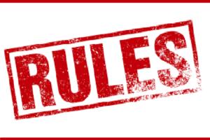 Правила расклейки объявлений